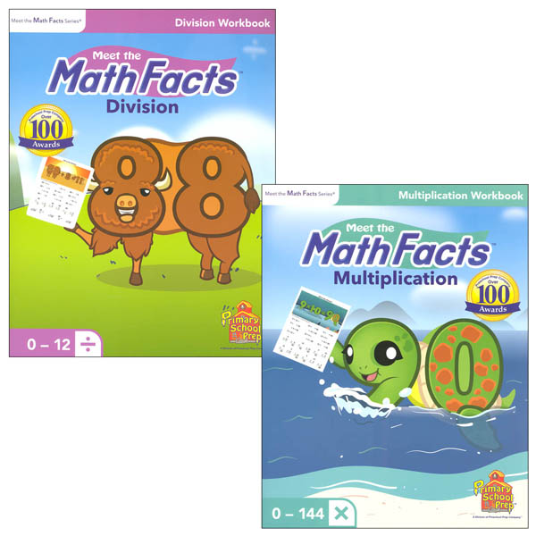 Meet the Math Facts Multiplication & Division Workbook Package