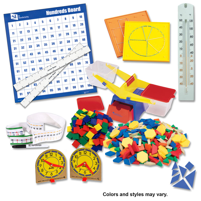 Manipulative Kit 2 (Plastic Pattern Block Upgrade, NO Optional Items)