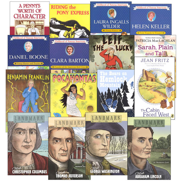 Memoria Press 3rd Grade American/Modern Studies Supplemental Reading Sets