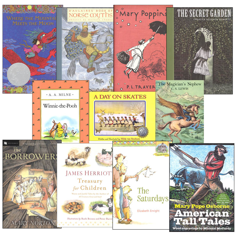 Memoria Press 3rd Grade Read-Aloud Novels Program