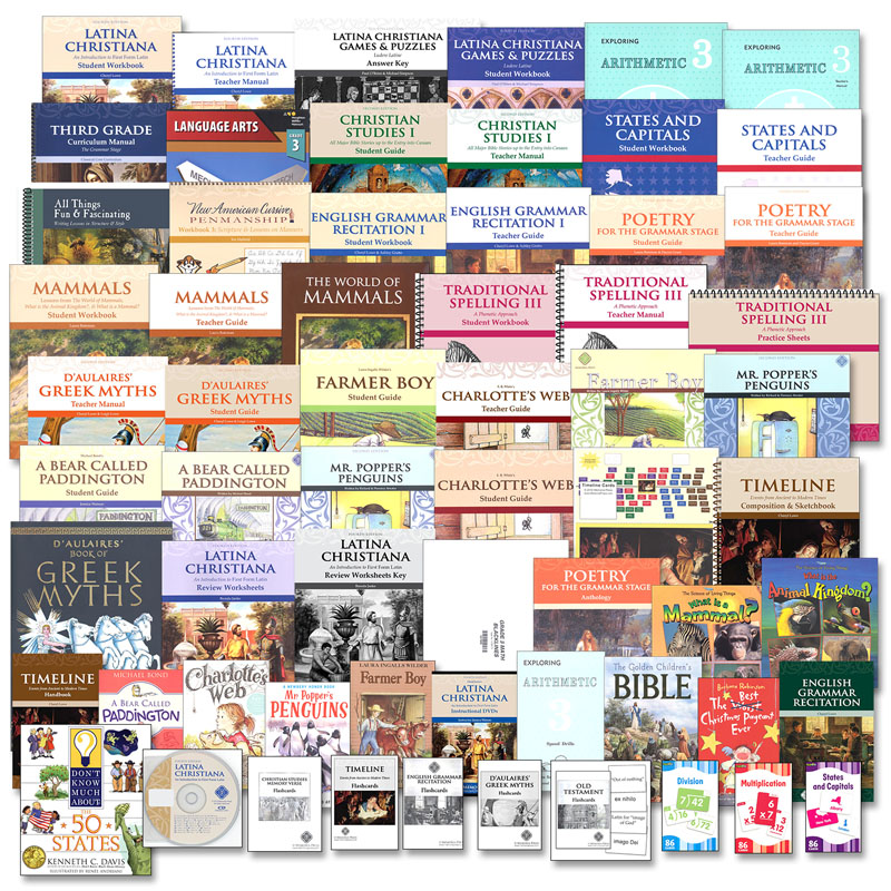 Memoria Press Curriculum 3rd Grade Package