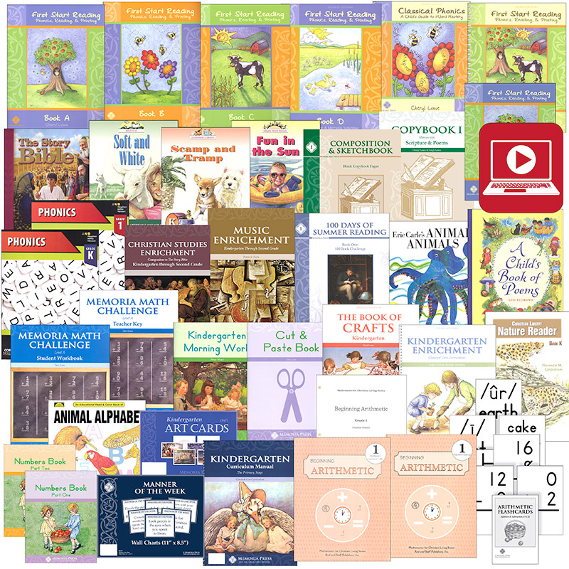 Memoria Press Curriculum Kindergarten Package