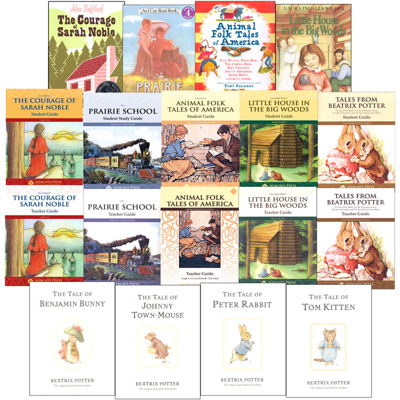 Memoria Press Literature Second Grade Package