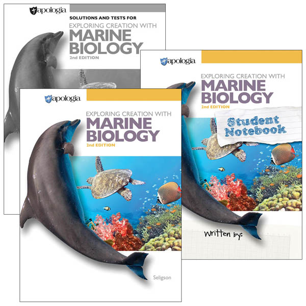 Exploring Creation with Marine Biology 2nd Edition Notebook Set