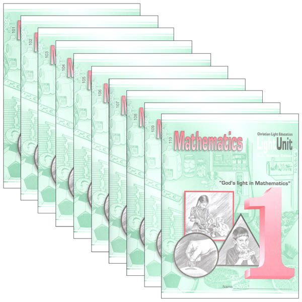Mathematics LightUnit Set 101-110