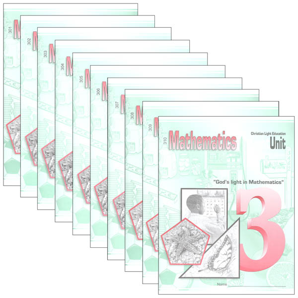 Mathematics LightUnit 301-310 Set Sunrise Edition