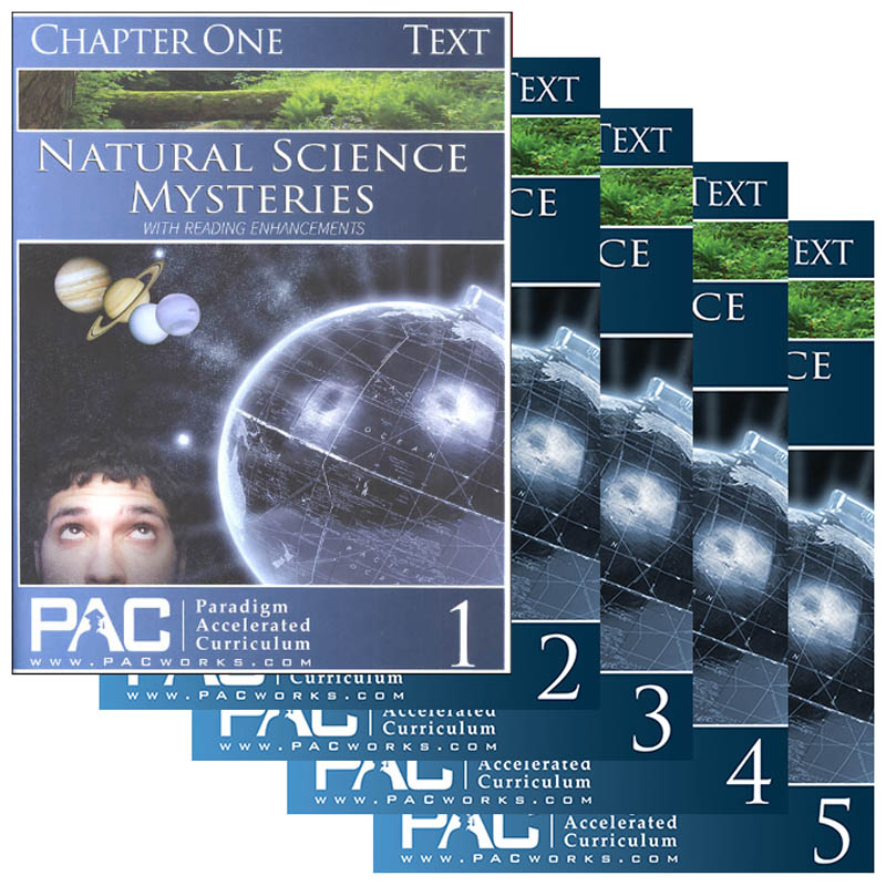 Natural Science Mysteries Text Package (Chapters 1-5)