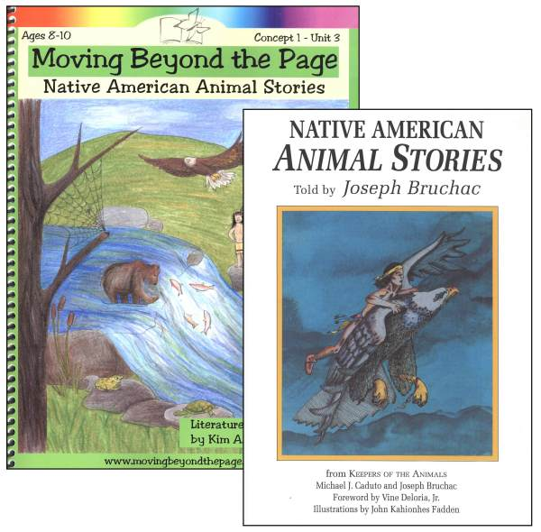 Native American Animal Stories Literature Unit Package