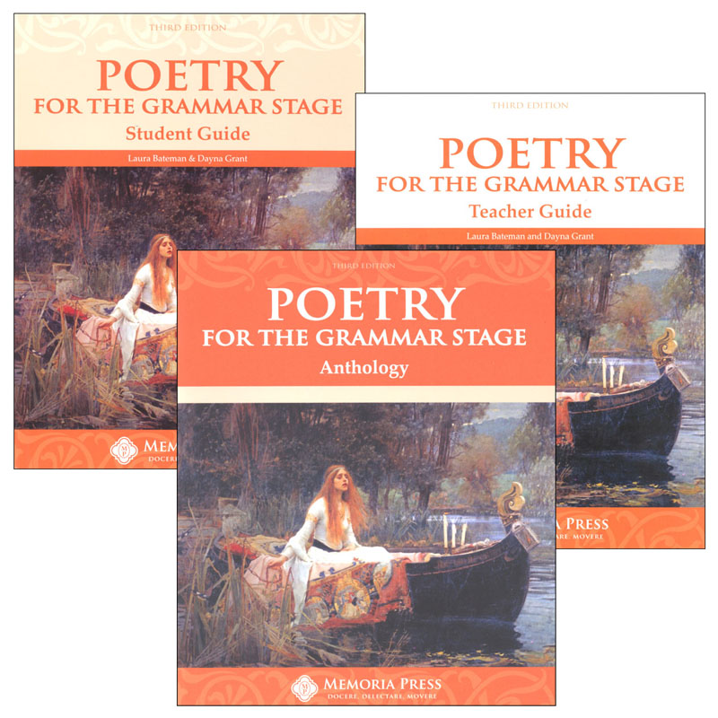 Poetry for the Grammar Stage