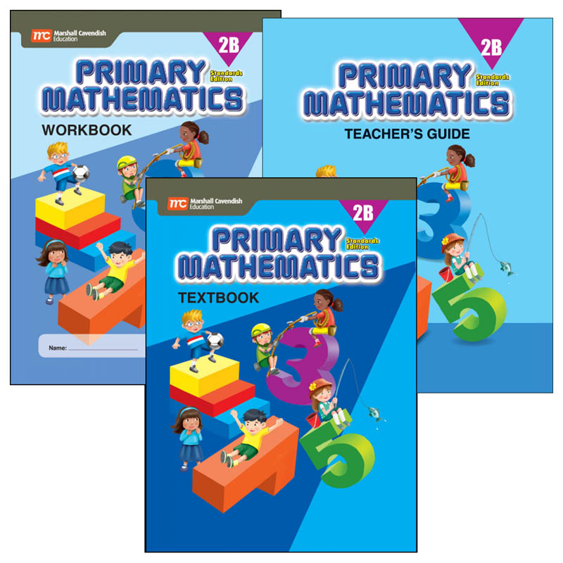 Primary Math Standards Edition 2B Bundle
