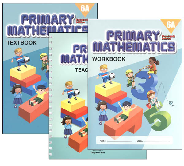 Primary Math Standards Edition 6A Bundle