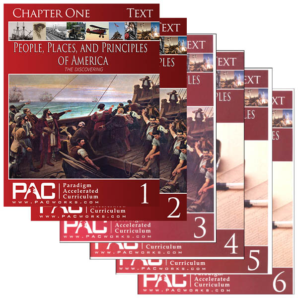 People, Places & Principles America Text Package Year 1 (Chapters 1-6)