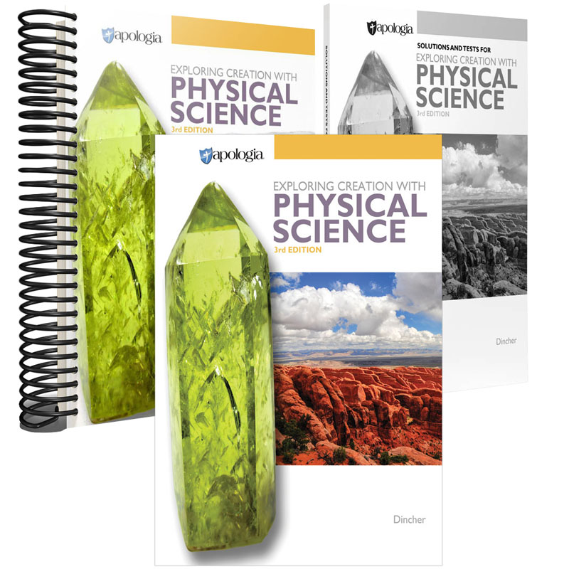 Exploring Creation with Physical Science 3rd Edition Set