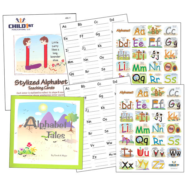 Right-Brained Alphabet Parent Kit