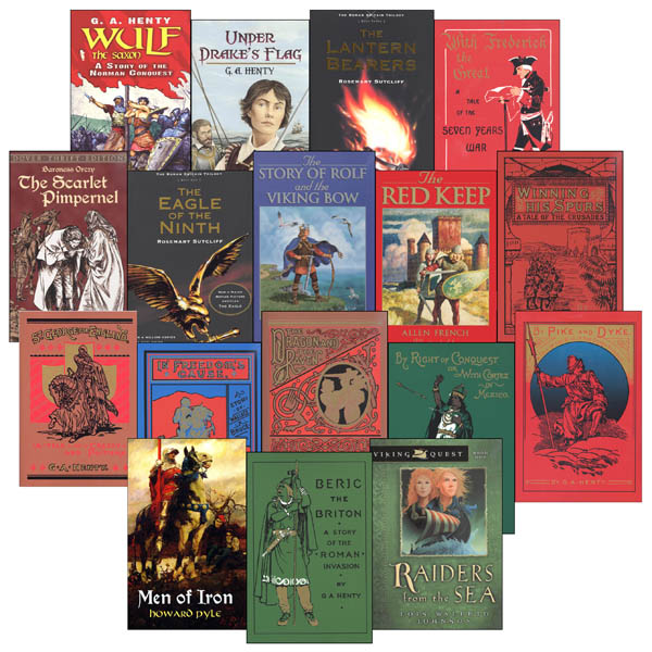 Romans, Reformers, Revolutionaries Historical Fiction Pack