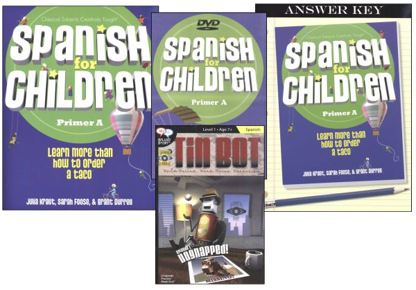 Spanish for Children A Package