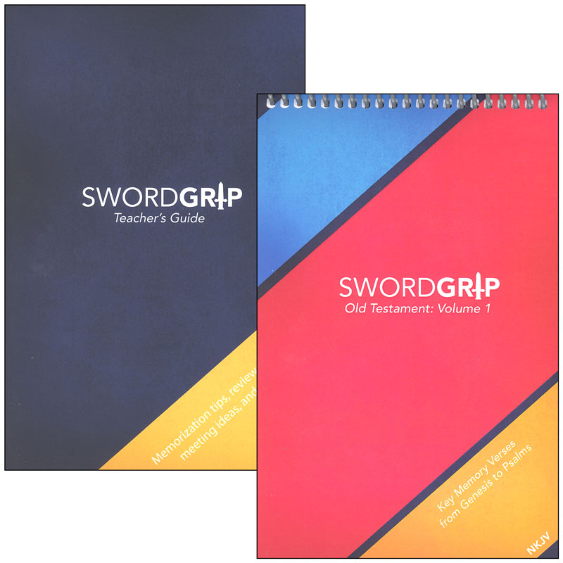 SwordGrip Flipbook - Genesis to Psalms with Teacher Guide - NKJV