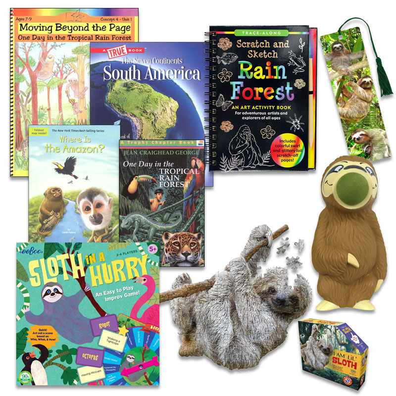 Sloth Crazy! Topical Enrichment Package
