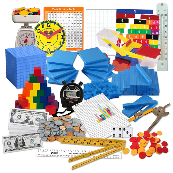 Saxon Math Intermediate 4 Manipulative Kit