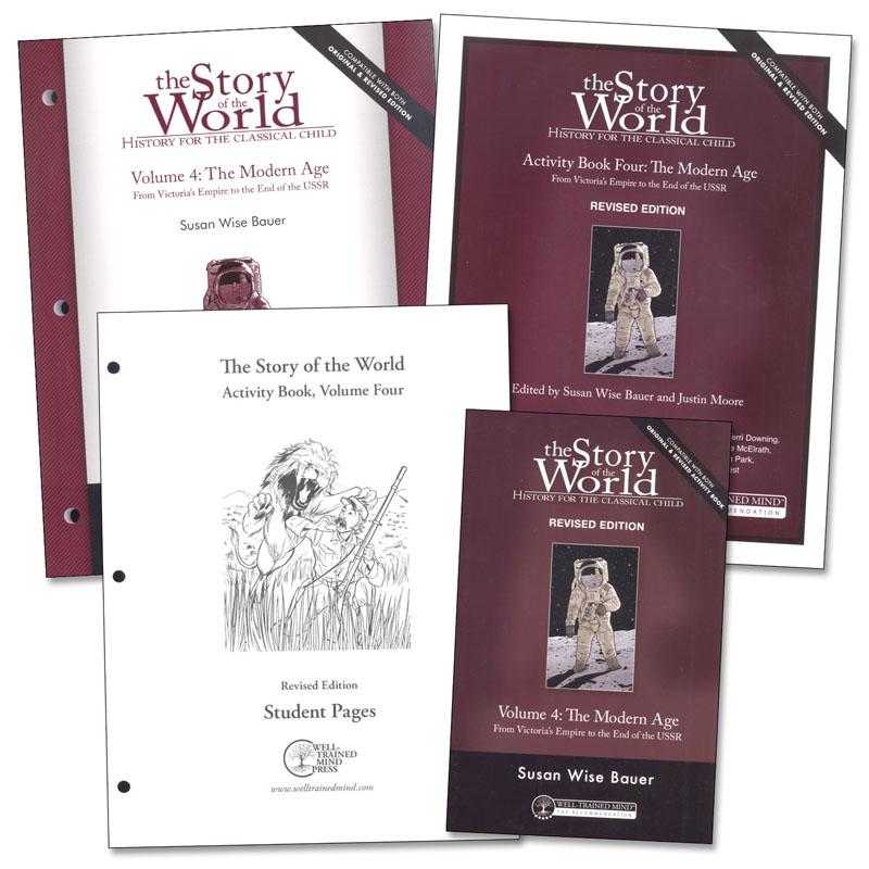 Story of the World Volume 4 Combo Pack