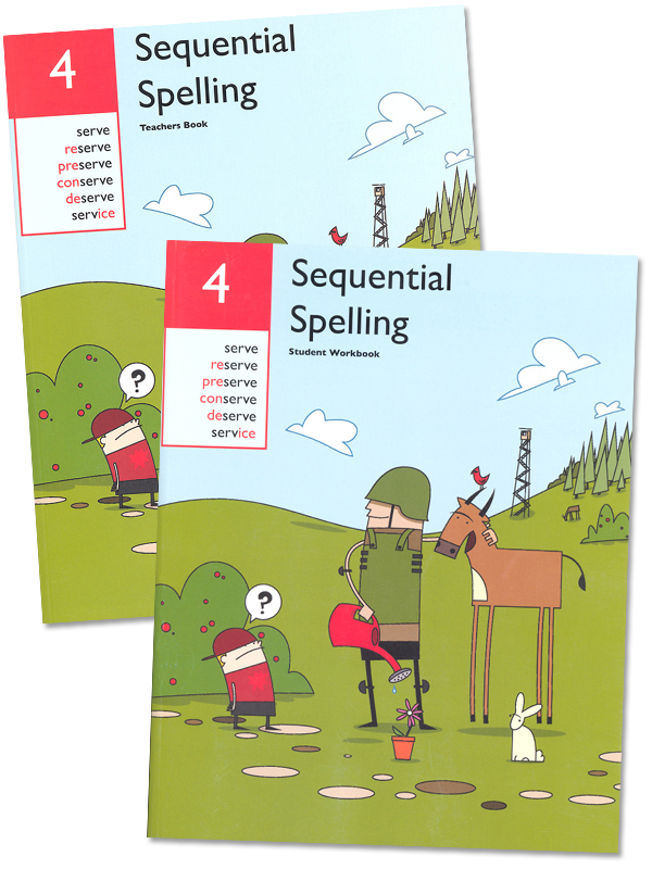 Sequential Spelling Level 4 Revised Set