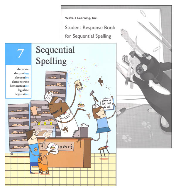 Sequential Spelling Level 7 Revised with Student Response Booklet