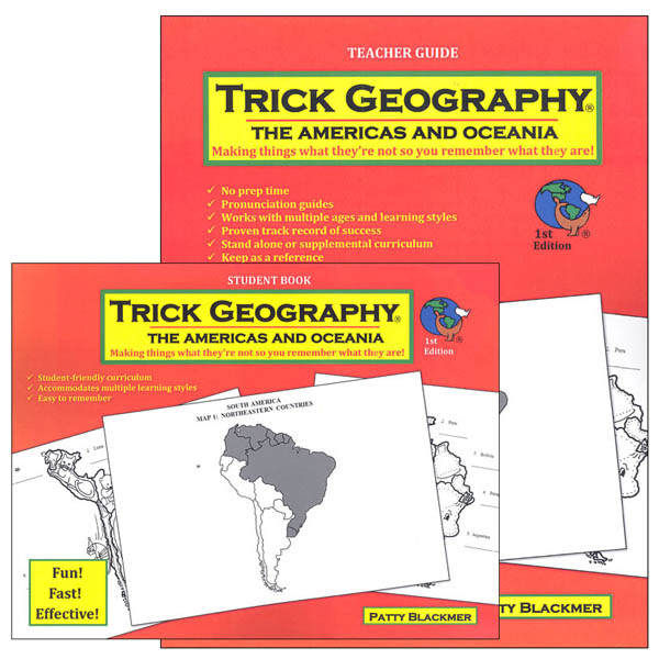 Trick Geography: Americas & Oceania Set
