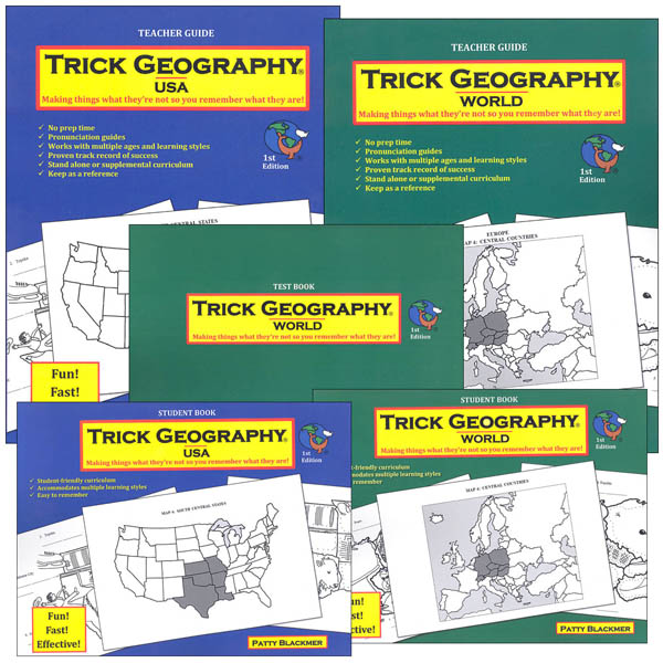 Trick Geography: Companion Series