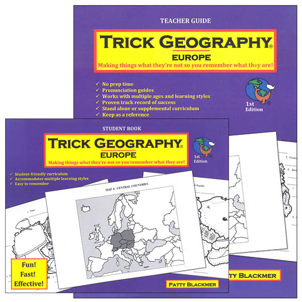 Trick Geography: Europe Set