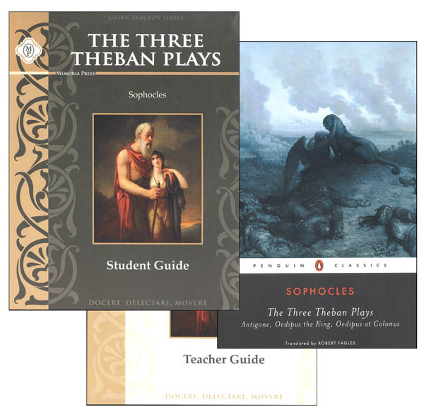 Three Theban Plays by Sophocles Set