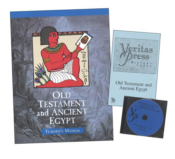 Veritas History Old Testament through Ancient Egypt Homeschool Kit