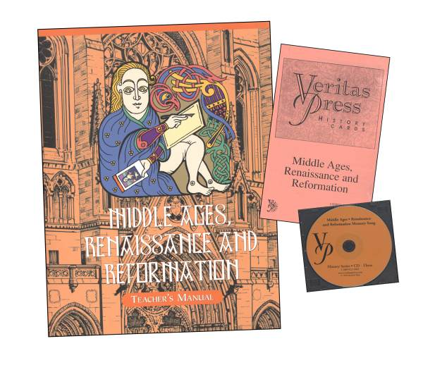 Veritas History Middle Ages, Renaissance and Reformation Homeschool Kit