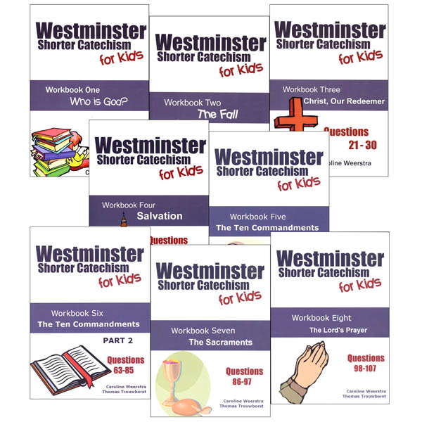 Westminster Shorter Catechism for Kids Complete Set
