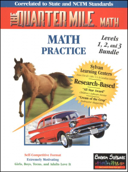 Quarter Mile Math Levels 1-3 Bundle CD-ROM
