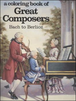 Bach to Berlioz Coloring Book