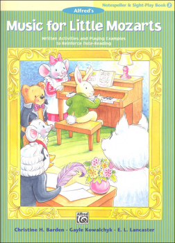Music for Little Mozarts Notespeller & Sight-Play Book 2