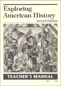 Exploring American History 2nd Edition Teacher's Manual