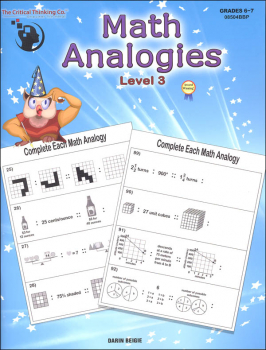 Math Analogies - Level 3