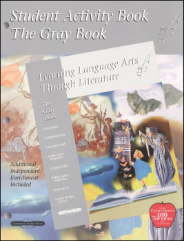 Learning Language Arts Through Literature Gray Student Book