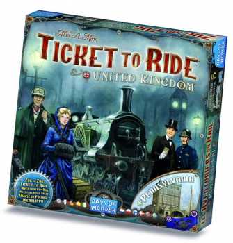 Ticket to Ride United Kingdom and Pennsylvania Map Collection/Expansion (Volume 5)