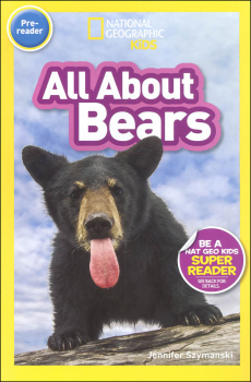 All About Bears (National Geographic Readers Pre-reader)