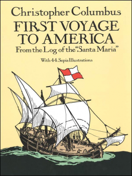 First Voyage to America (La Casas)