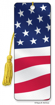 American Flag 3D Bookmark