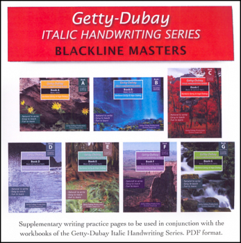 Blackline Masters Set A-G (Full CD)