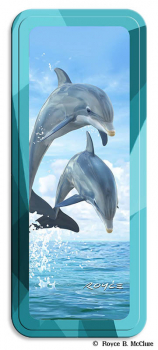 Dolphin Jumpers 3D Pencil Tin