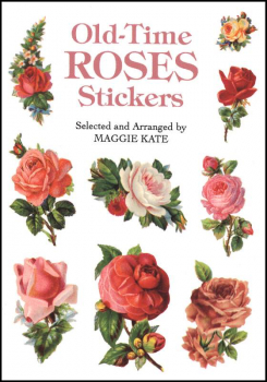 Old-Time Roses Small Format Stickers