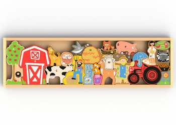 Farm A to Z Alphabet Puzzle