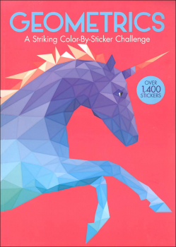 Geometrics: Striking Color-By-Sticker Challenge