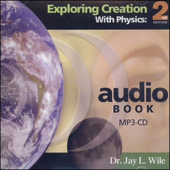 Exploring Creation with Physics Audio Book MP3 CD 2nd Edition