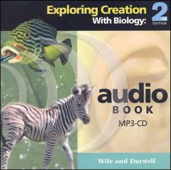 Exploring Creation with Biology Audio Book MP3 CD